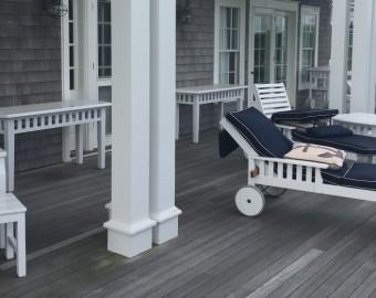 Weatherend White High Gloss Yacht Finish furniture