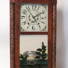Elisha Hotchkiss 8-day Mantle Clock