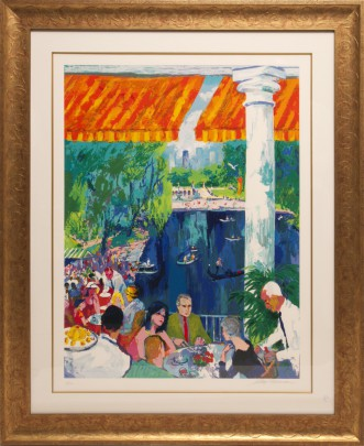 "LeRoy Neiman ""The Boat House, Central Park"" Silkscreen"