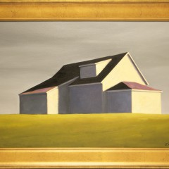"""Joan Albaugh Oil on Canvas Board """"Shelter in Place"""""""