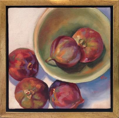 """Katie Trinkle Legge """"Figs"""" Oil on Canvas"""