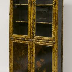 19th Century English Bamboo Cabinet