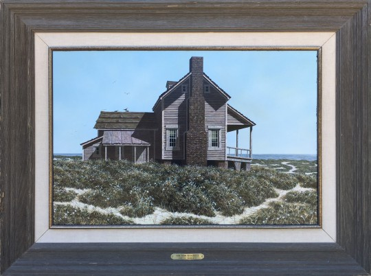 James H. Cromartie Acrylic on Artist