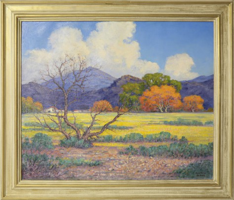 """Andrew DoBos Oil on Canvas """"Owens Valley"""""""