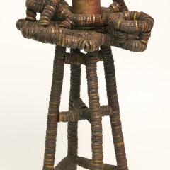 Folk Art Smoke Stand