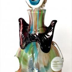 Mid-Century Italian Murano Glass Clown Decanter