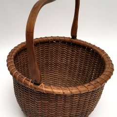 Two Mitchy Ray Nantucket Baskets