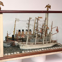 19th Century Naval Diorama