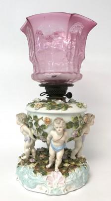 12-4223 Cherub Lamp 1