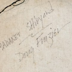 "Douglas Fraizer Oil on Canvas ""Madaket Shipyard"""