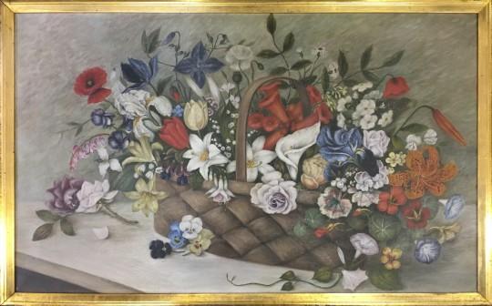 5-3562 Flowers in a Basket 1