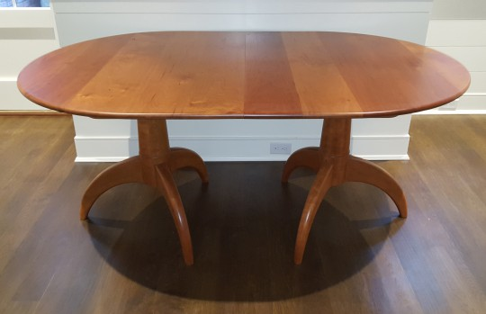Stephen Swift Double Pedestal Table