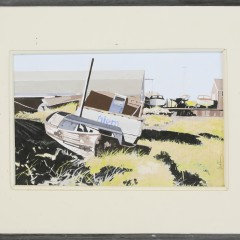 "John Austin Tempera on Board ""Nantucket Boatyard"""