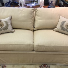 Montrose Beige Upholstered Sofa