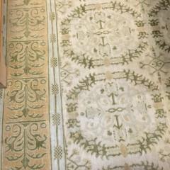 "Custom Hand Woven ""Antique Spanish Style"" Carpet"