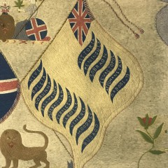19th Century British Sailor's Woolwork