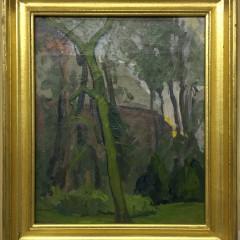 """Margaret Jordan Patterson Oil on Artist's Board """"Landscape"""""""