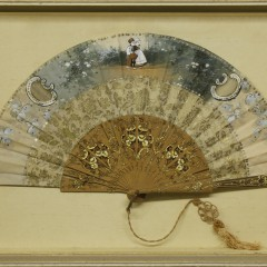 19th Century Decorated Lady's Hand Fan