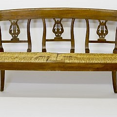 19th C. French Provencial Settee