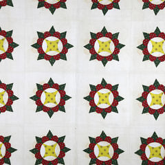 Fine Pair of American Pinwheel Patchwork Quilts, circa 1850