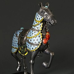 Chinese Caparisoned Horse