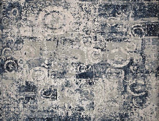 3-4700 Abstract Design Oriental Rug