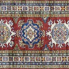 37-4700 Red Super Kazak Oriental Runner