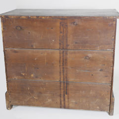American Chippendale Grain Painted Chest of Drawers, 18th Century