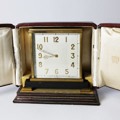 15-4782 Cartier French Bronze Table Clock A_MG_2979