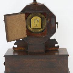 Robert Jobe – London – Rosewood Mantel Clock, 19th Century