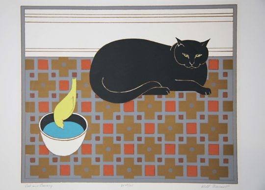 16-93 Will Barnet Cat and Canary B_MG_3638