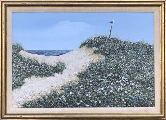 2242-955 James Cromartie Acrylic Nantucket Dunes IMG_0868
