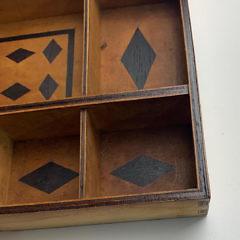Sailor Made Inlaid Sewing Box, circa 1850