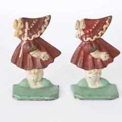 1462-54 Sun Bonnet Sue Bookends
