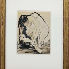 22-4426 Pen Drawing Two Nudes A_MG_4565