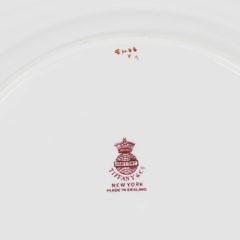 24 Minton's Tiffany & Co. New York Plates
