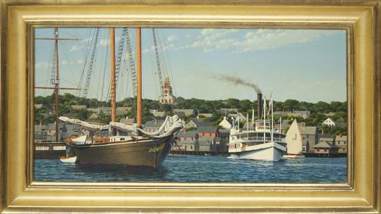 4-4813 Forrest Rodts Oil Nantucket Harbor A_MG_4752