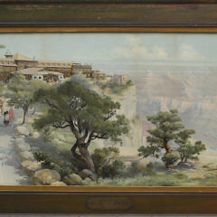 2300-955 Louis Akin Litho El Tovar A_MG_6072