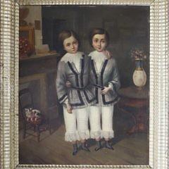8-4900 Portrait of Twins Oil A_MG_5443