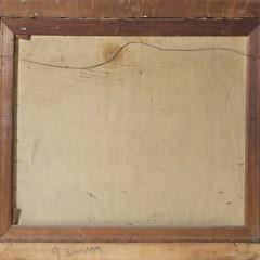 """Edith Alice Scott Oil on Canvas """"River Landscape"""""""
