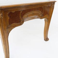 French Art Nouveau Bureau Plat Desk, circa 1900