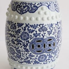 45-4803 Chinese Blue and White Garden Stool_MG_3930
