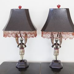 47-4803 Pair Blackamoor Lamps A_MG_3828