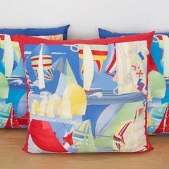 56-4803 Three Salvador Feragamo Silk Pillows_MG_3831