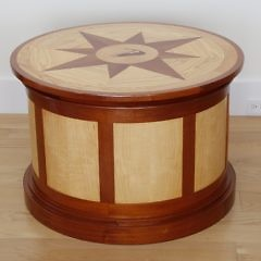 58-4803 Peter Culbertson Nantucket Drum Table_MG_3855