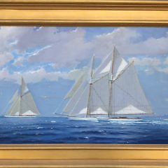 123-3520 Wm Lowe Oil Perfect Sailing Day Nantucket A IMG_3184
