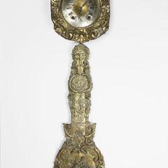 132-4133 Scandinavian Brass Clock A_MG_8183