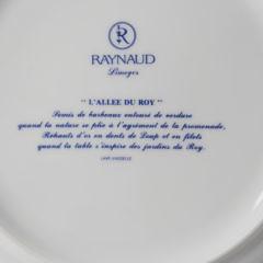 "Limoges ""L'Allee du Roy"" Raynaud Dinner Service"