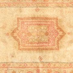 Vintage Turkish Angora Oushak Oriental Carpet