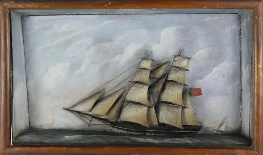 169-4817 British Clipper Ship Shadowbox A_MG_8576